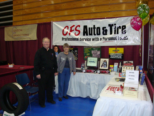 CFS Auto and Tire at the Springboro Expo